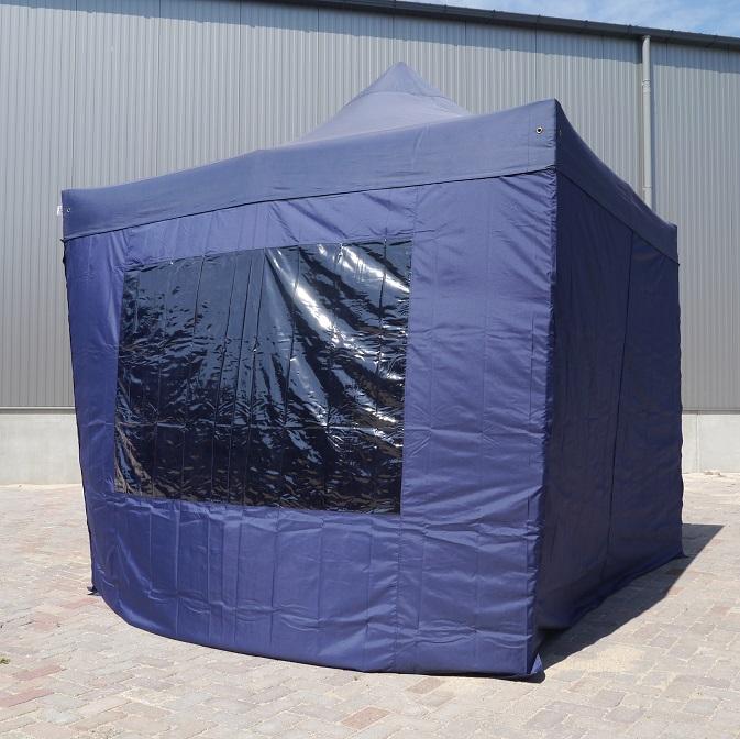 3×6 Easy up tent blauw huren – Partytentverhuur Leiden