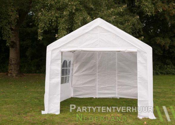 Partytent 3x3 meter voorkant huren - Partytentverhuur Leiden