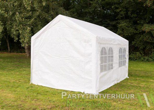 Partytent 3x4 meter achterkant huren - Partytentverhuur Leiden