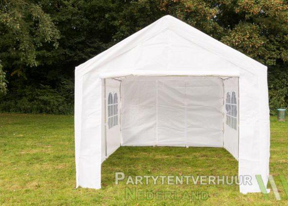 Partytent 3x4 meter voorkant huren - Partytentverhuur Leiden