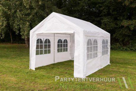 Partytent 3x4 meter zijkant huren - Partytentverhuur Leiden