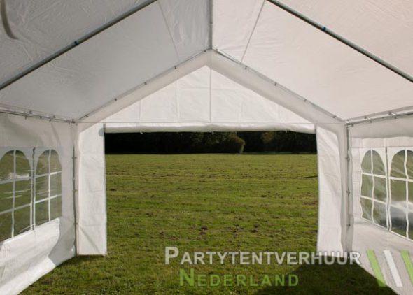 Partytent 4x4 meter binnenkant huren - Partytentverhuur Leiden