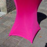 Roze statafelrok - Partytentverhuur Eindhoven