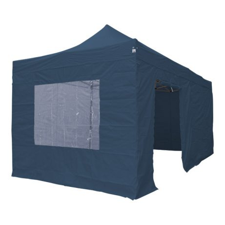 Blauwe 3x6 easy up tent huren in Leiden