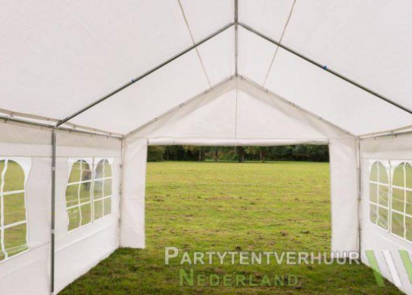Partytent 4x6 meter binnenkant huren - Partytentverhuur Leiden