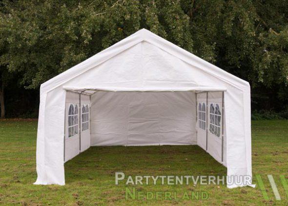 Partytent 4x6 meter voorkant huren - Partytentverhuur Leiden