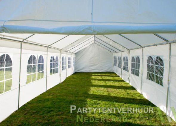 Partytent 6x12 meter binnenkant huren - Partytentverhuur Leiden