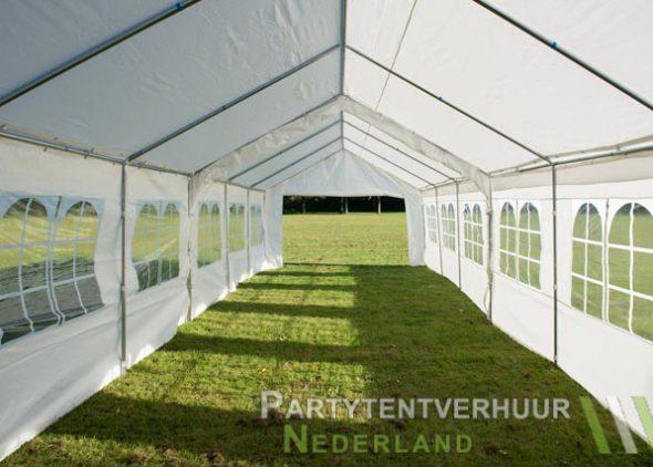 Partytent 6x12 meter binnenkant open huren - Partytentverhuur Leiden