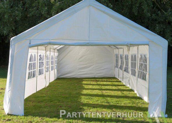 Partytent 6x12 meter voorkant huren - Partytentverhuur Leiden