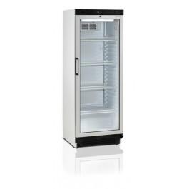 Tecfold fs1280 glasdeurkoelkast met een inhoud van 290 liter en ruimte voor 266 blikjes