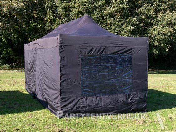 Easy up tent 3x6 meter achterkant huren - Partytentverhuur Leiden