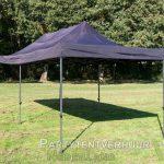 Easy up tent 3x6 meter schuin voorkant huren - Partytentverhuur Leiden