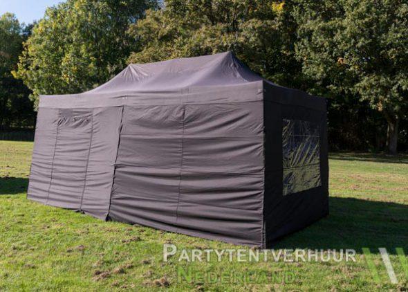 Easy up tent 3x6 meter zijkant huren - Partytentverhuur Leiden