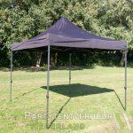Easy up tent 3x3 meter schuin huren - Partytentverhuur Leiden