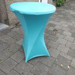 Mooie statafelrok turquoise Leiden