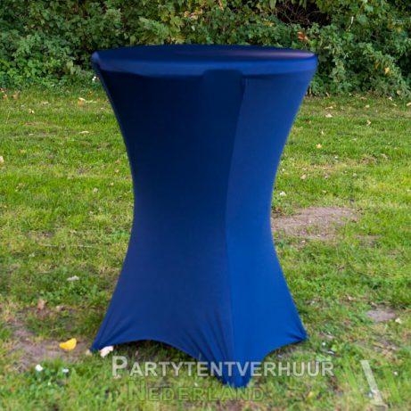 Donkerblauwe statafelrok huren in Leiden