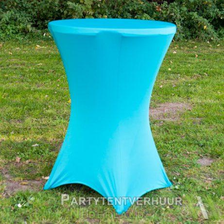 Blauwe statafelrok huren in Leiden