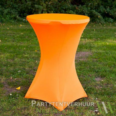 Oranje statafelrok huren in Leiden