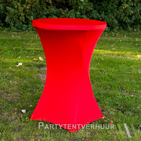 Rode statafelrok huren in Leiden